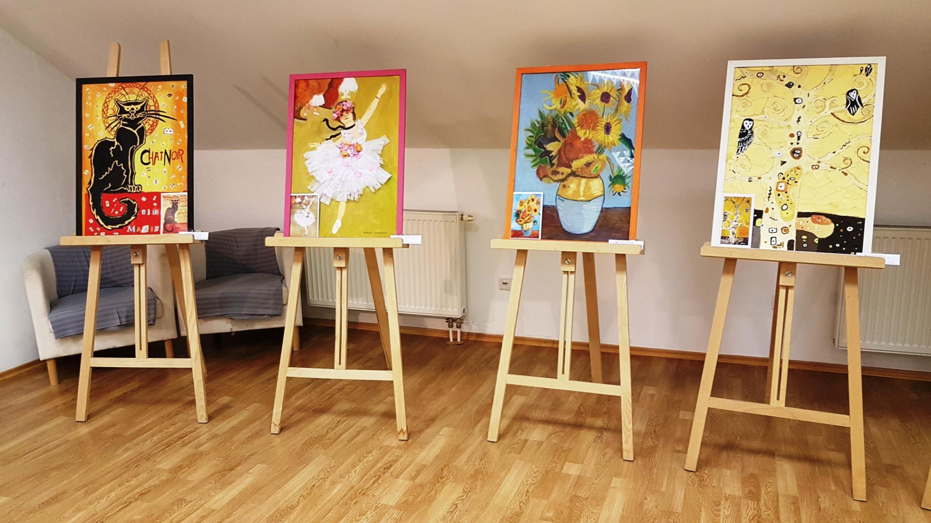 Vernisáž výstava prác žiakov výtvarného odboru SZUŠ Renáty ... 57b41aba006
