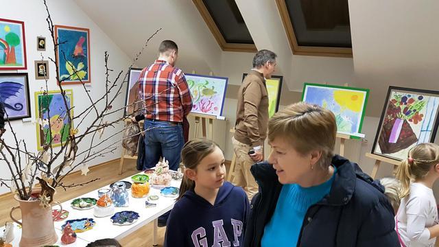 8. februára bola otvorená výstava prác žiakov výtvarného odboru Súkromnej  základnej umelecká školy Renáty Madarászovej. Vernisáž sa uskutočnila v  Galérii ... aef5d02f76a